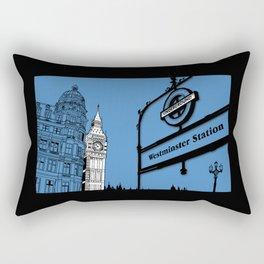 lonDRes cAPitale Rectangular Pillow