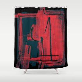 Ira controlada Shower Curtain