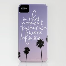the perks of being a wallflower iPhone (4, 4s) Slim Case