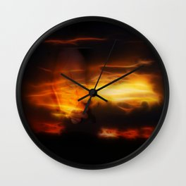 The hand that guides Wall Clock