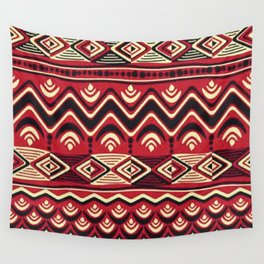 African Tribal Pattern No. 116 Wall Tapestry