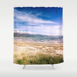 Petone Foreshore Shower Curtain