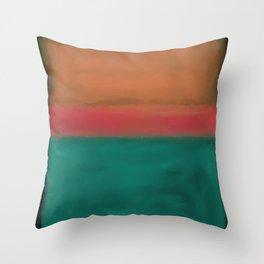 Rothko Inspired #4 Throw Pillow