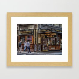 Beantown Pub Framed Art Print