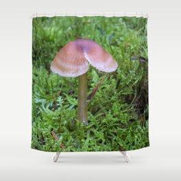 Split Fungi Shower Curtain