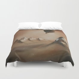 Around the world in 80 days by Jules Verne Duvet Cover