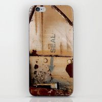 seal iPhone & iPod Skins featuring Seal by Shy Photog