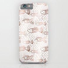 Deep sea school of gold fish Slim Case iPhone 6