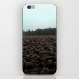 Earth Layers - Sky, Land, and Rock iPhone Skin