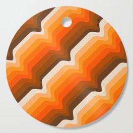 Golden Wave Cutting Board