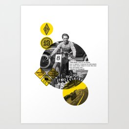 You Can Quote Me - Hunter S. Thompson Art Print