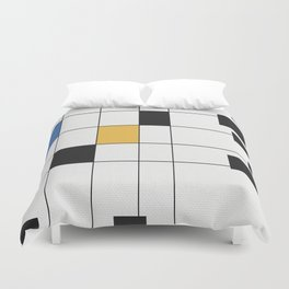 Simple Connections 6 Duvet Cover