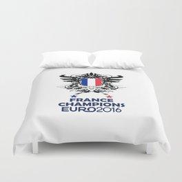 France Uefa Euro 2016 Duvet Cover