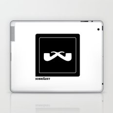 Sobriquet B&W. Laptop & iPad Skin