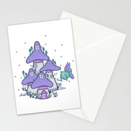 Fairy House Stationery Cards