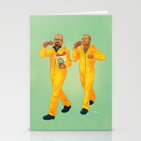 breaking bad Stationery Cards featuring Breaking Bad by Dave Collinson