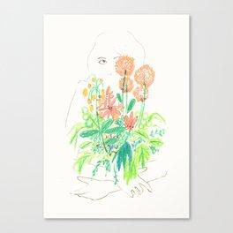 Flower flower Canvas Print