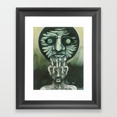 Looking at the sky Framed Art Print