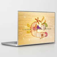 carousel Laptop & iPad Skins featuring Carousel by José Luis Guerrero