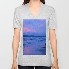 Dream Sunset Unisex V-Neck