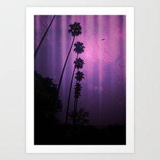 Purple Imagination Art Print