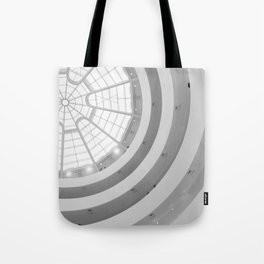 Guggenheim Interior | Frank Lloyd Wright Architect Tote Bag