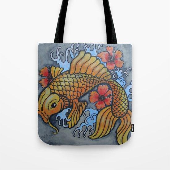 koi fish 02 Tote Bag