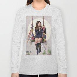 LA to the moon Long Sleeve T-shirt