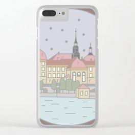 Castle Moritzburg Saxony - Cinderella Clear iPhone Case
