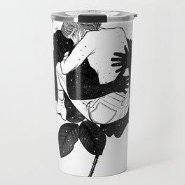 Hugging hope. Travel Mug