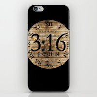 bible verses iPhone & iPod Skins featuring LOST VERSES FOUND by Miriam Hahn