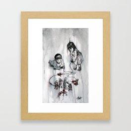War Games Framed Art Print