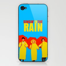 Singin In The Rain iPhone & iPod Skin