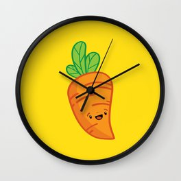 Carrot Guy Wall Clock