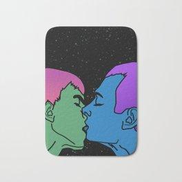 Space kiss Bath Mat