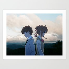 Cardcaptor Sakura x Kimi No Na Wa 1 Art Print