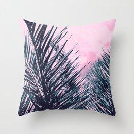 Summer Palms - Cali Vibes #1 #tropical #decor #art #society6 Throw Pillow
