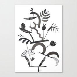 Abstract Botanica - 1 Canvas Print