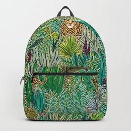 Jungle Tigers by Veronique de Jong Backpack