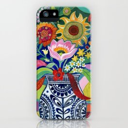 Late Summer Blooms iPhone Case