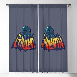Cthulman - Cthulhu the Bat Blackout Curtain