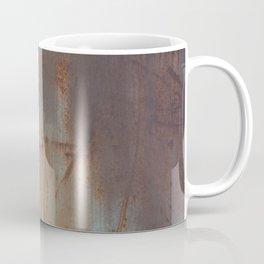 Rust and Pink Watercolor Abstract III Coffee Mug