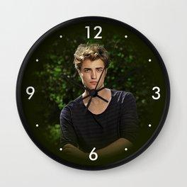 Robert Pattinson - Celebrity - Oil Paint Art Wall Clock