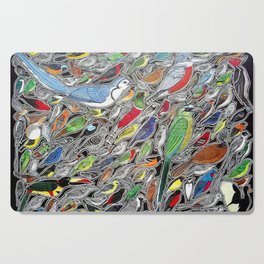 Toucans, parrots and tropical birds of Costa Rica Cutting Board