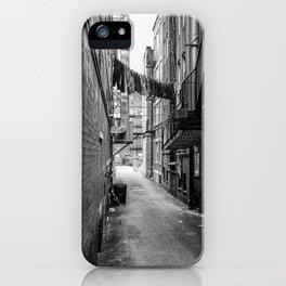 Laundry Line iPhone Case