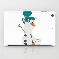 olaf iPad Cases featuring Olaf & Pals by Cheshire Giraffe
