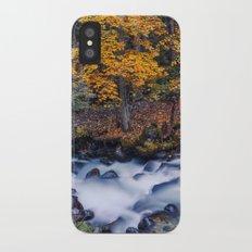 Autumn River iPhone X Slim Case