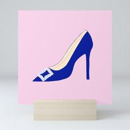 SATC Carrie Bradshaw Princess Shoe Mini Art Print