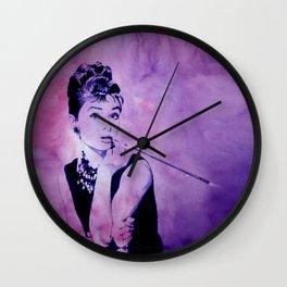 MISS GOLIGHTLY - Breakfast at Tiffany´s Wall Clock