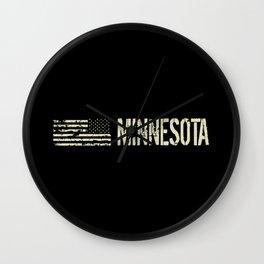 Black Flag: Minnesota Wall Clock
